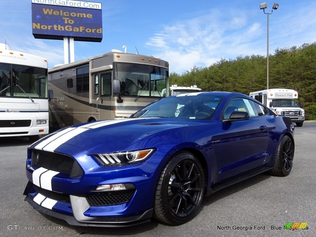 2016 Deep Impact Blue Metallic Ford Mustang Shelby Gt350