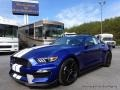 2016 Deep Impact Blue Metallic Ford Mustang Shelby GT350  photo #1
