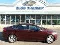 2013 Bordeaux Reserve Red Metallic Ford Fusion SE #112369430