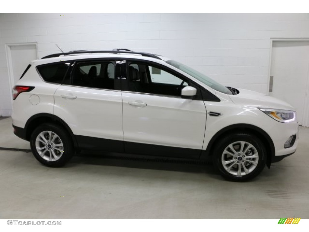 2017 White Platinum Ford Escape Se 4wd 112369184 Photo 5