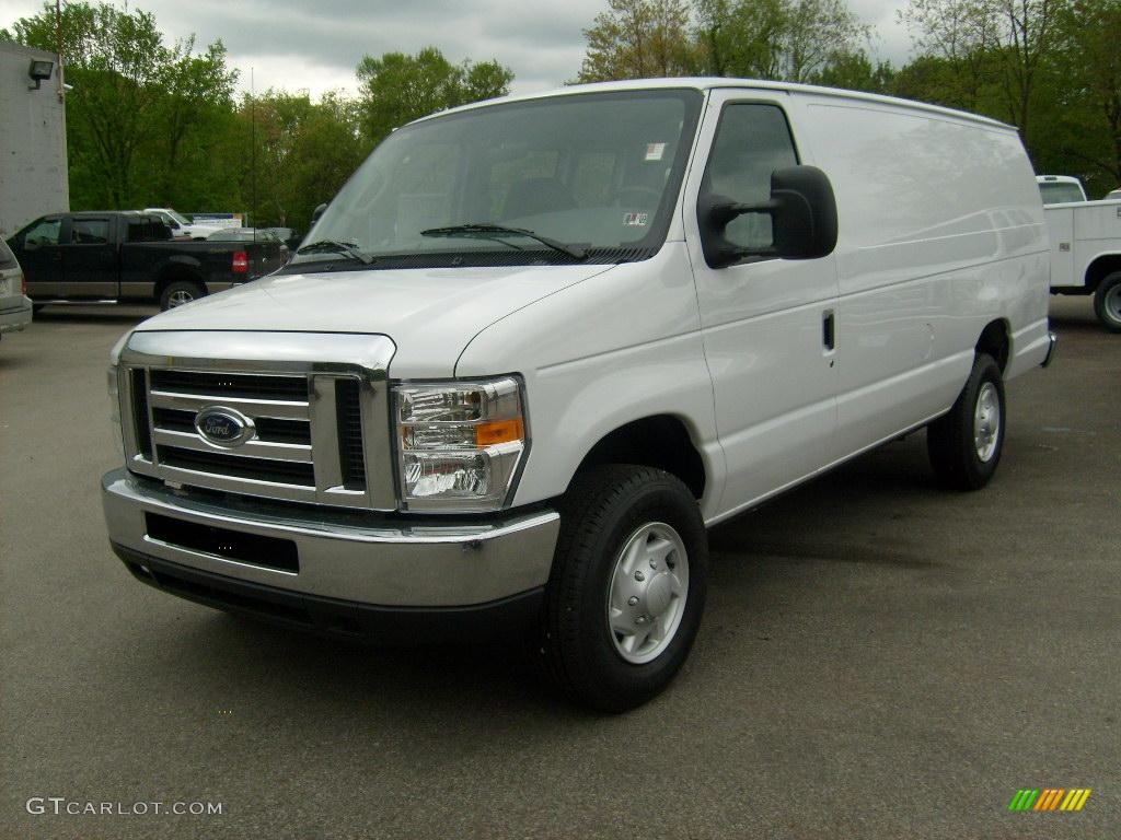 2008 oxford white ford e series van e350 super duty cargo extended 11208463 photo 14. Black Bedroom Furniture Sets. Home Design Ideas