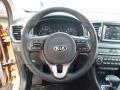 Black Steering Wheel Photo for 2017 Kia Sportage #112399781
