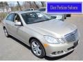 Pearl Beige Metallic 2010 Mercedes-Benz E 350 4Matic Sedan