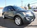 2016 Guard Metallic Ford Explorer XLT 4WD  photo #3