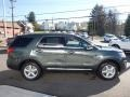 2016 Guard Metallic Ford Explorer XLT 4WD  photo #4