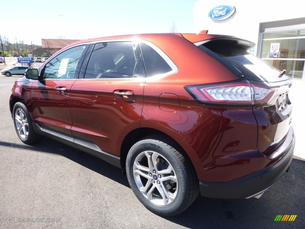 2016 bronze fire ford edge titanium awd 112416195 photo 8 car color galleries. Black Bedroom Furniture Sets. Home Design Ideas
