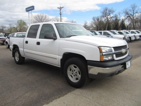 2004 Chevrolet Silverado 1500 LS Crew Cab 4x4 Data, Info and Specs