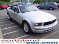 2007 Satin Silver Metallic Ford Mustang V6 Deluxe Convertible  photo #5