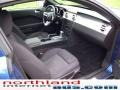2007 Vista Blue Metallic Ford Mustang V6 Deluxe Coupe  photo #15