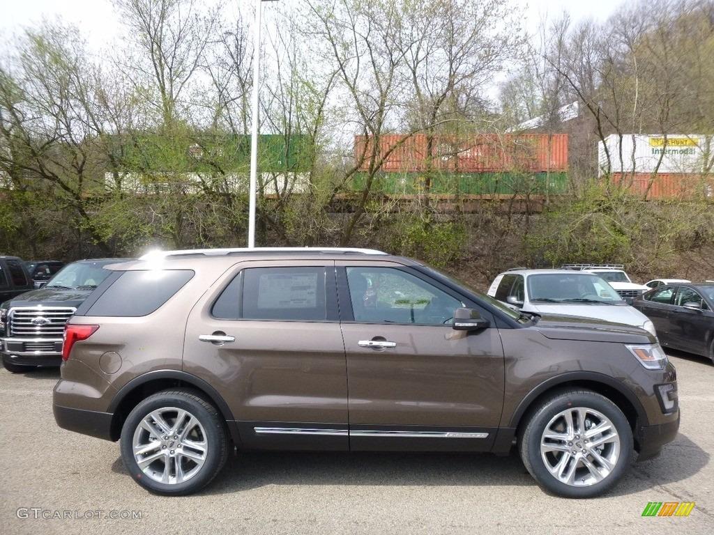 2016 Explorer Limited 4WD - Caribou Metallic / Ebony Black photo #1