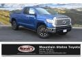 2016 Blazing Blue Pearl Toyota Tundra Limited Double Cab 4x4  photo #1
