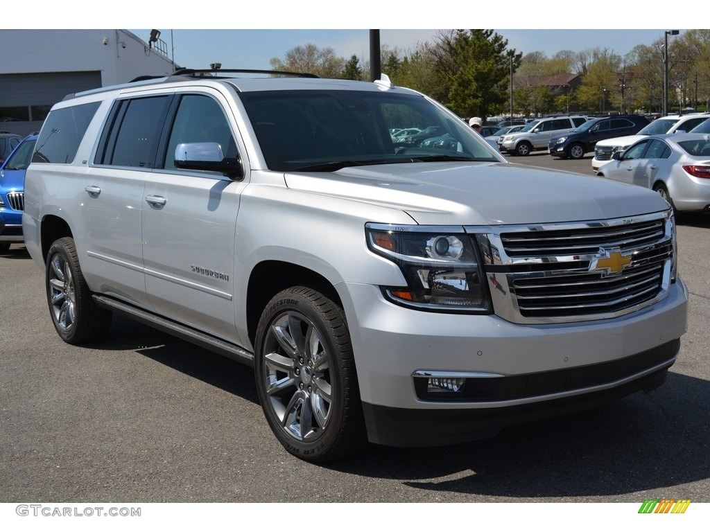 2015 silver ice metallic chevrolet suburban ltz 4wd 112452412 photo 3 car. Black Bedroom Furniture Sets. Home Design Ideas