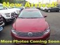 Fortana Red Metallic 2014 Volkswagen CC Sport