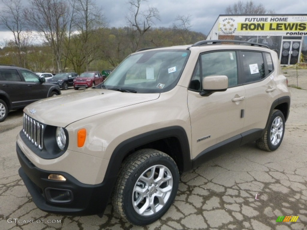 2016 mojave sand jeep renegade latitude 4x4 112452597 car color galleries. Black Bedroom Furniture Sets. Home Design Ideas