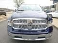True Blue Pearl - 1500 Laramie Quad Cab 4x4 Photo No. 9