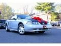 2000 Silver Metallic Ford Mustang V6 Convertible  photo #11