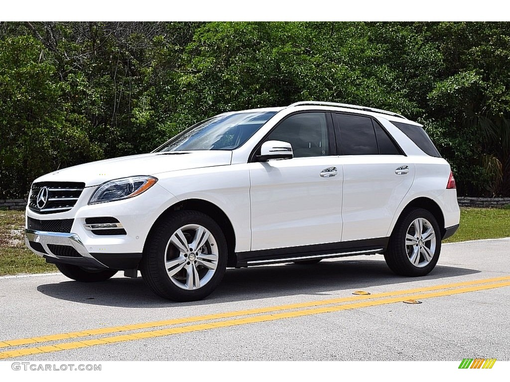 2015 polar white mercedes benz ml 250 bluetec 4matic 112523472 car color galleries. Black Bedroom Furniture Sets. Home Design Ideas