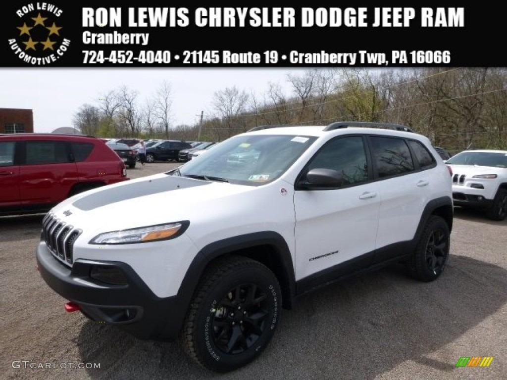 2016 Bright White Jeep Cherokee Trailhawk 4x4 112523252