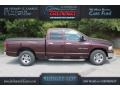 2004 Deep Molten Red Pearl Dodge Ram 1500 SLT Quad Cab #112550682