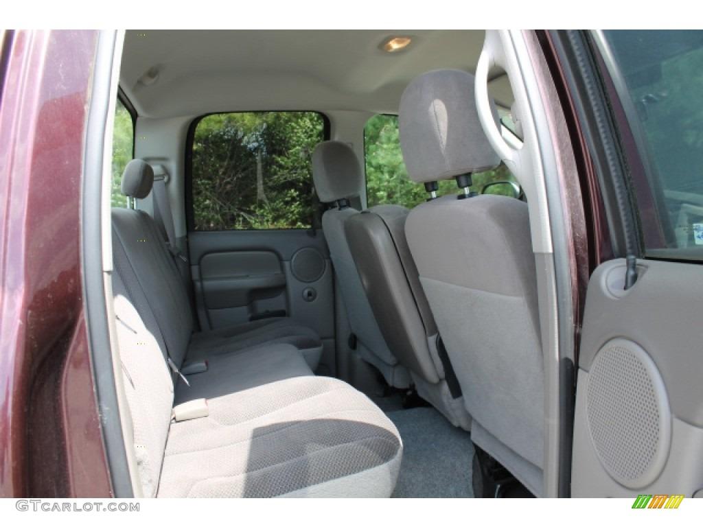 2004 Ram 1500 SLT Quad Cab - Deep Molten Red Pearl / Dark Slate Gray photo #8