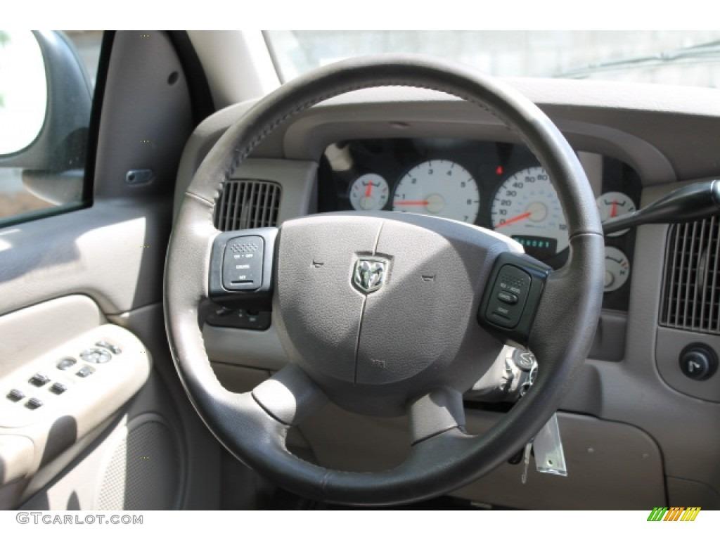 2004 Ram 1500 SLT Quad Cab - Deep Molten Red Pearl / Dark Slate Gray photo #10