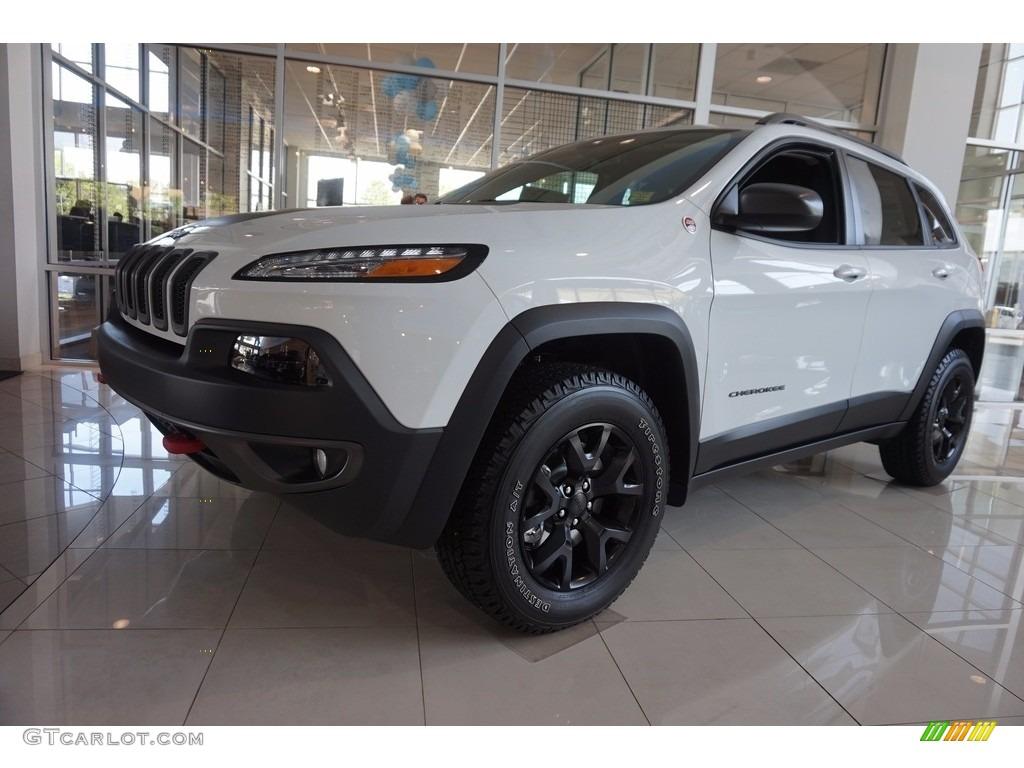 2016 Bright White Jeep Cherokee Trailhawk 4x4 112582884