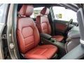 2016 B 250e Cranberry Red Interior