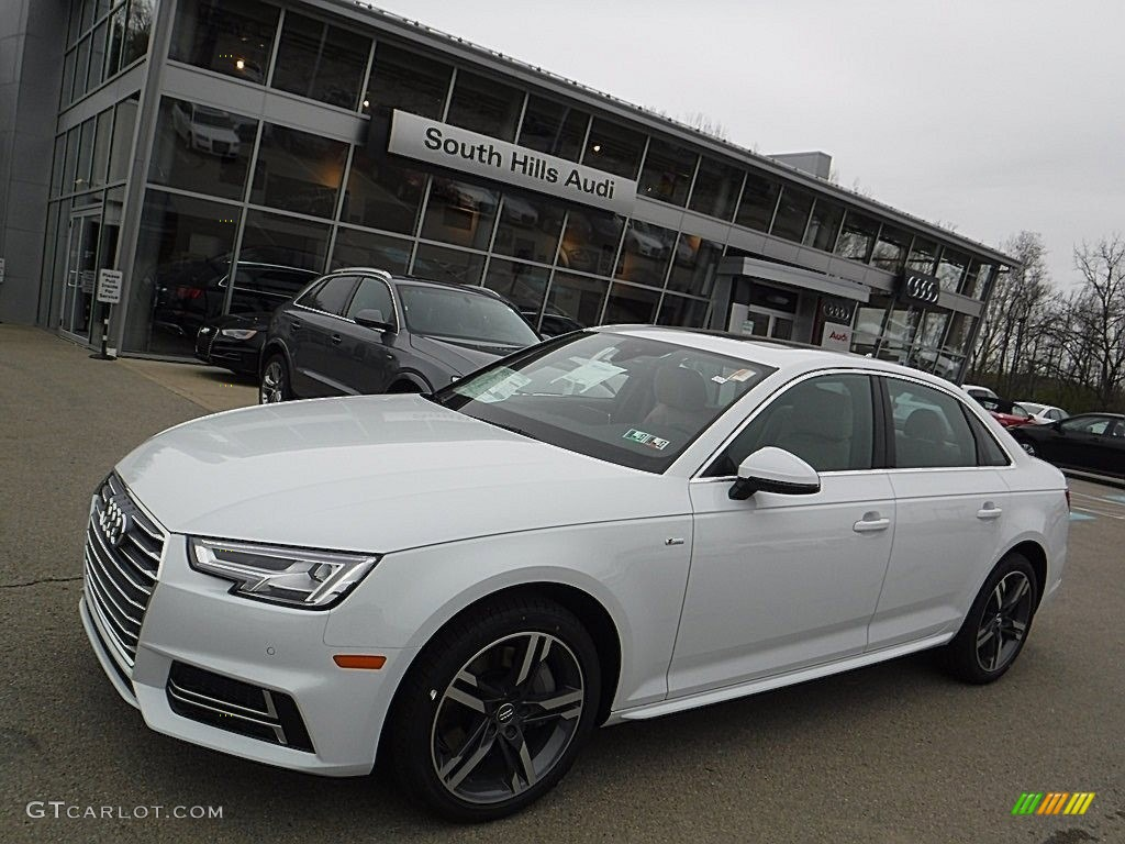 2017 glacier white metallic audi a4 2 0t premium plus quattro 112582917 car. Black Bedroom Furniture Sets. Home Design Ideas
