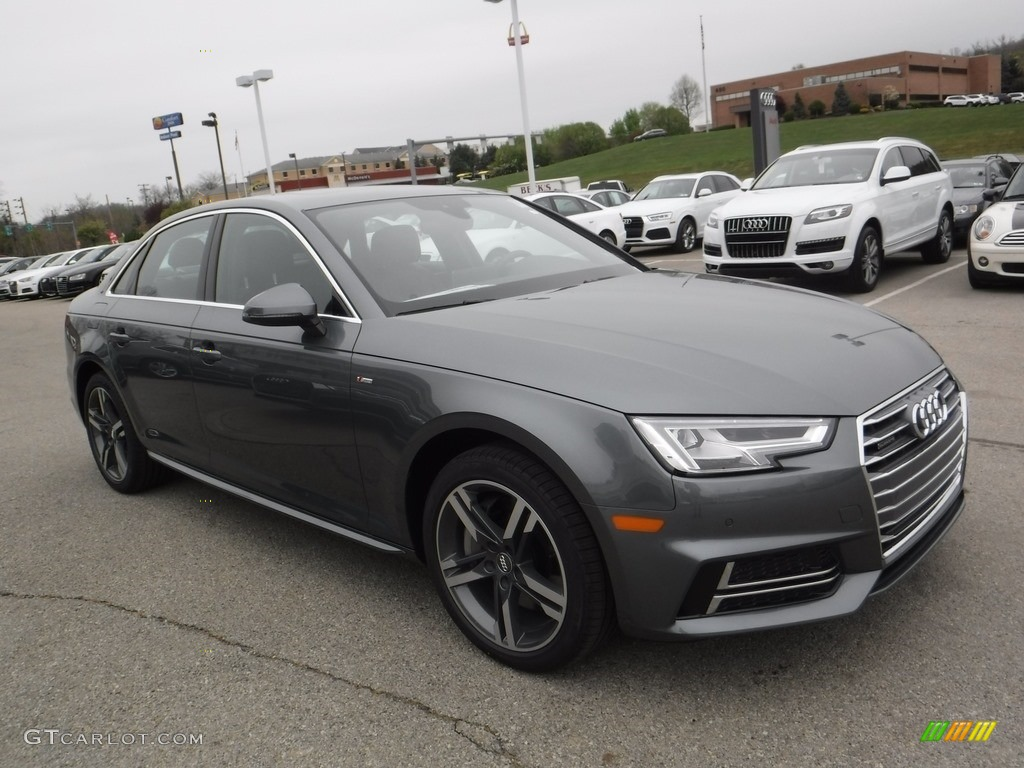 2017 Monsoon Gray Metallic Audi A4 2 0t Premium Plus