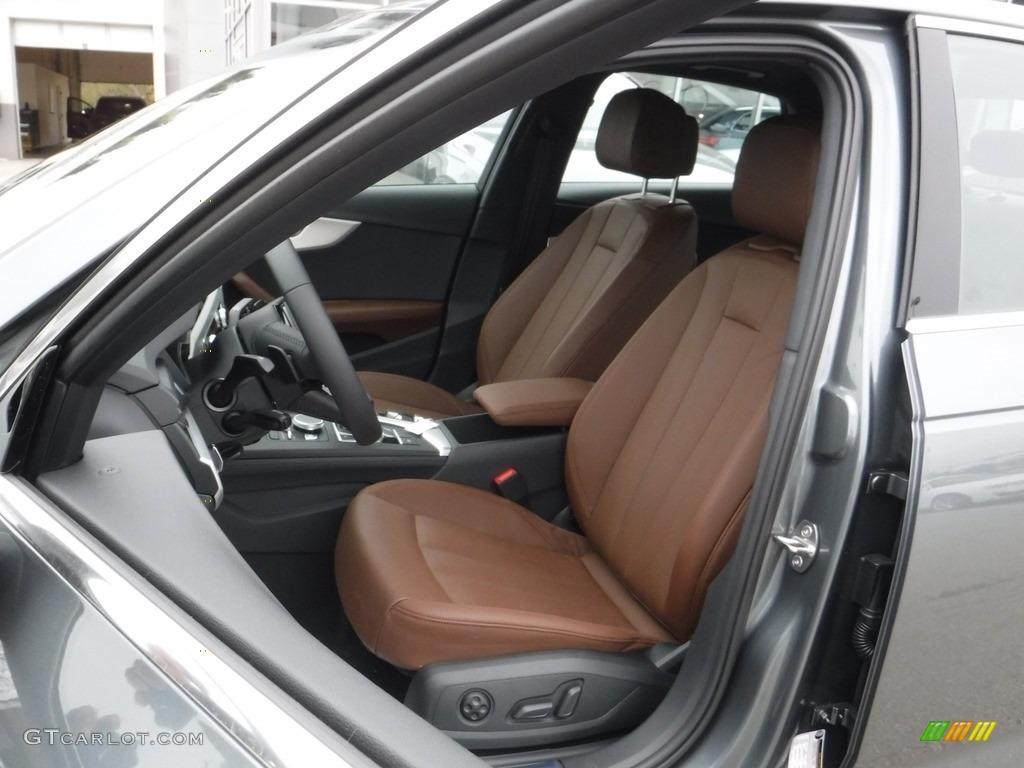 Nougat Brown Interior 2017 Audi A4 2 0t Premium Plus