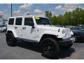 Bright White 2014 Jeep Wrangler Unlimited Sahara 4x4