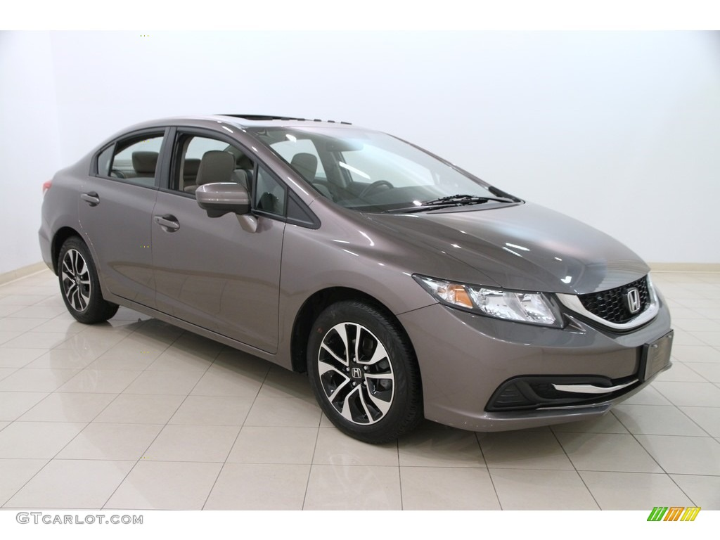 2014 Urban Titanium Metallic Honda Civic Ex Sedan 112609013 Gtcarlot Com Car Color Galleries