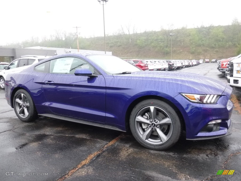 Deep impact blue metallic ford mustang ford mustang v6 coupe
