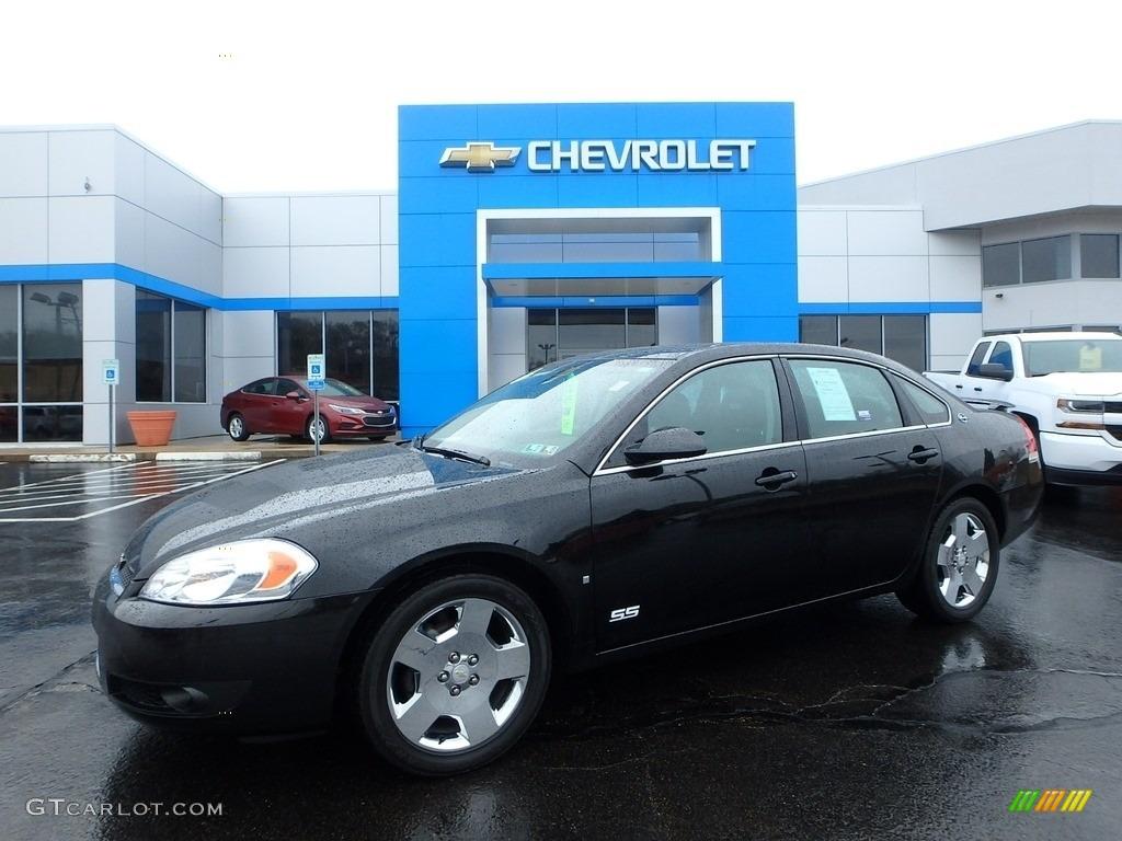 Black Chevrolet Impala. Chevrolet Impala SS