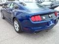 2016 Deep Impact Blue Metallic Ford Mustang V6 Coupe  photo #26