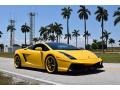 Giallo Halys (Yellow) 2006 Lamborghini Gallardo Coupe E-Gear
