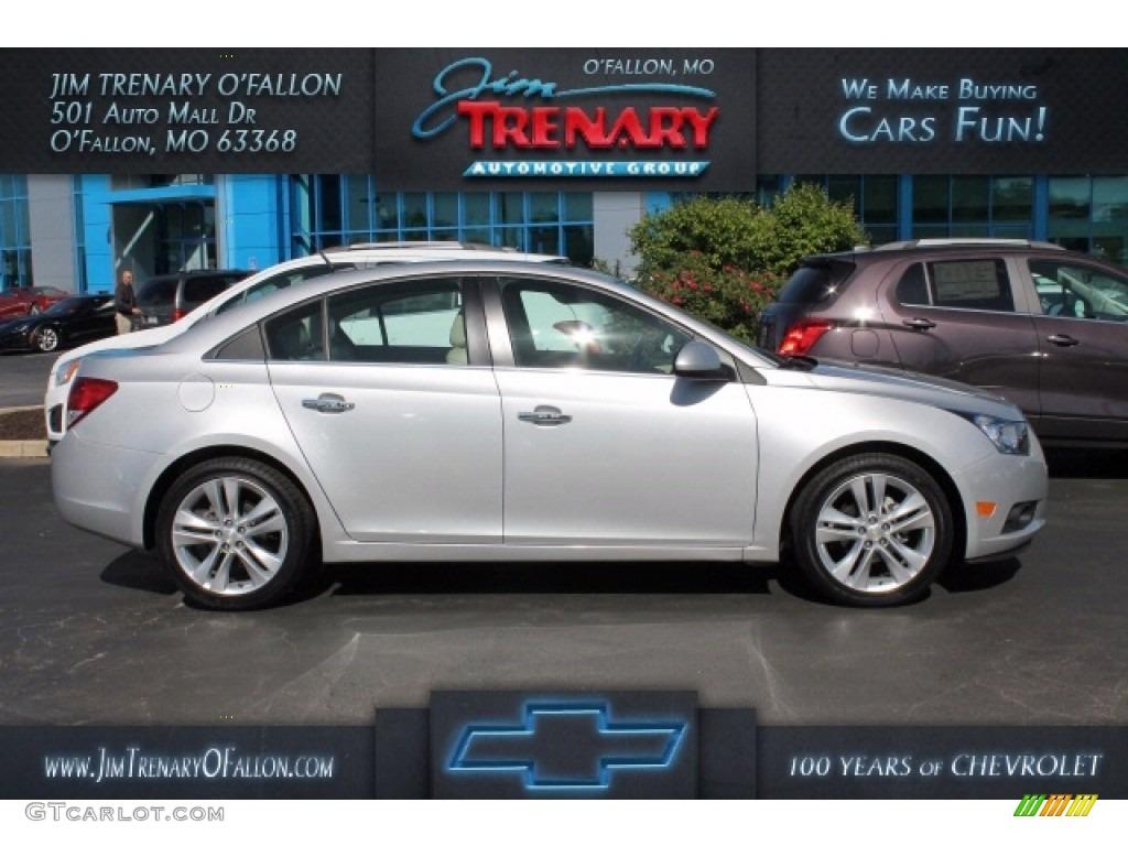 2014 Silver Ice Metallic Chevrolet Cruze Ltz 112632694 Car Color Galleries