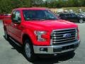 2016 Race Red Ford F150 XLT SuperCab 4x4  photo #7