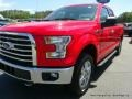 2016 Race Red Ford F150 XLT SuperCab 4x4  photo #30