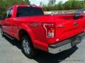 2016 Race Red Ford F150 XLT SuperCab 4x4  photo #33