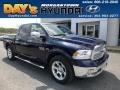 2013 True Blue Pearl Ram 1500 Laramie Crew Cab 4x4 #112633093