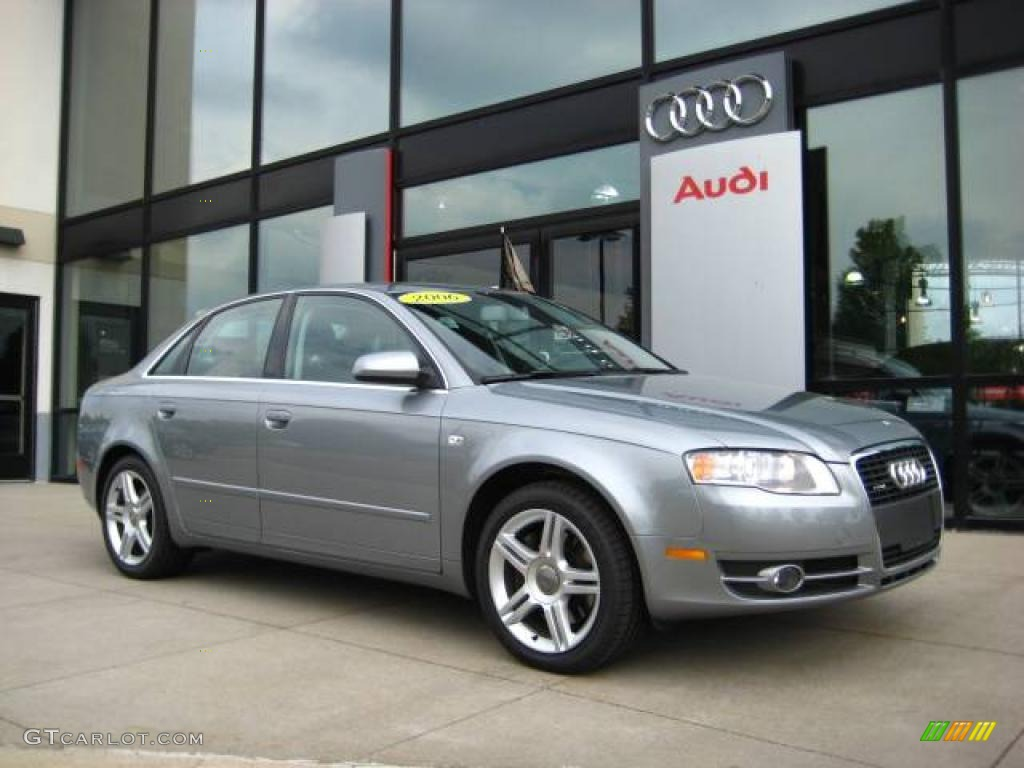 2006 quartz gray metallic audi a4 2 0t quattro sedan 11262255 car color galleries. Black Bedroom Furniture Sets. Home Design Ideas