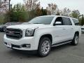 White Frost Tricoat 2016 GMC Yukon XL SLT 4WD