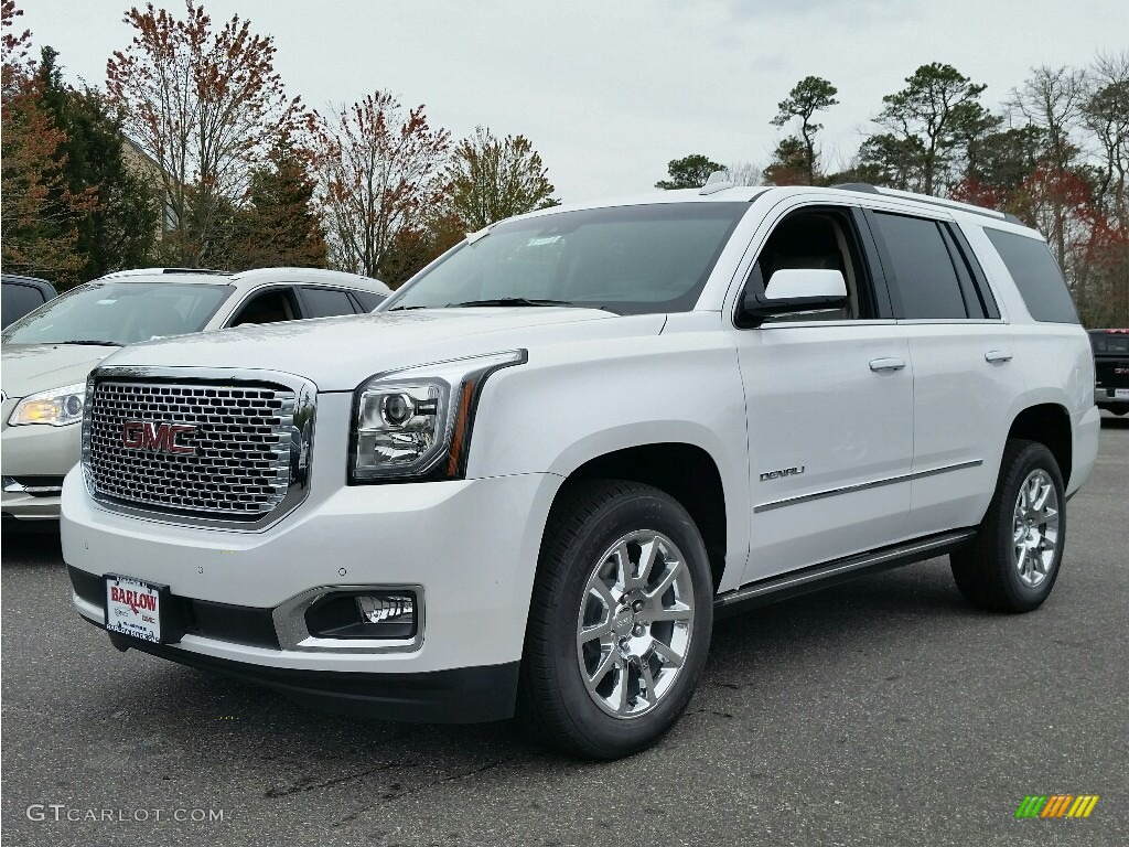 2016 white frost tricoat gmc yukon denali 4wd 112694556. Black Bedroom Furniture Sets. Home Design Ideas