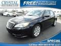 Crystal Blue Pearl Coat 2012 Chrysler 200 Touring Sedan