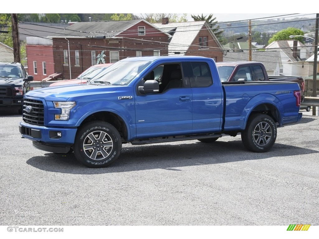 2016 blue flame ford f150 xlt supercab 4x4 112694743 car color galleries. Black Bedroom Furniture Sets. Home Design Ideas