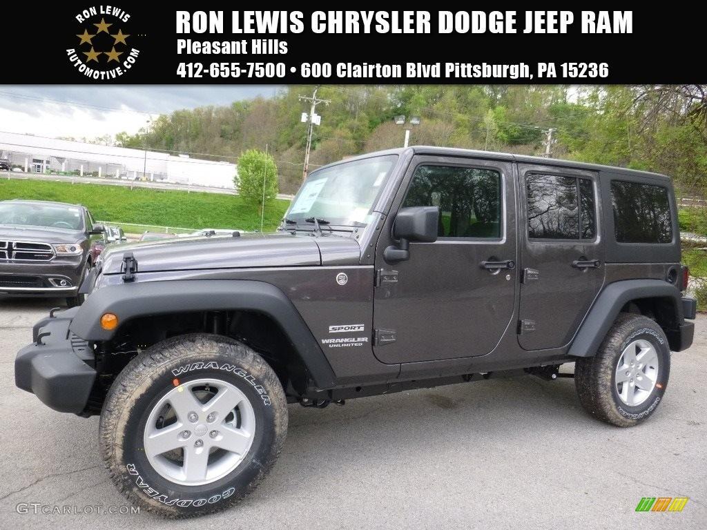 Granite crystal metallic jeep wrangler unlimited