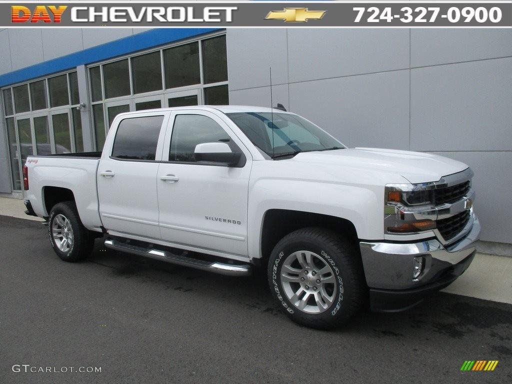 Summit White Chevrolet Silverado 1500