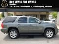 Gray Green Metallic 2011 GMC Yukon SLE 4x4