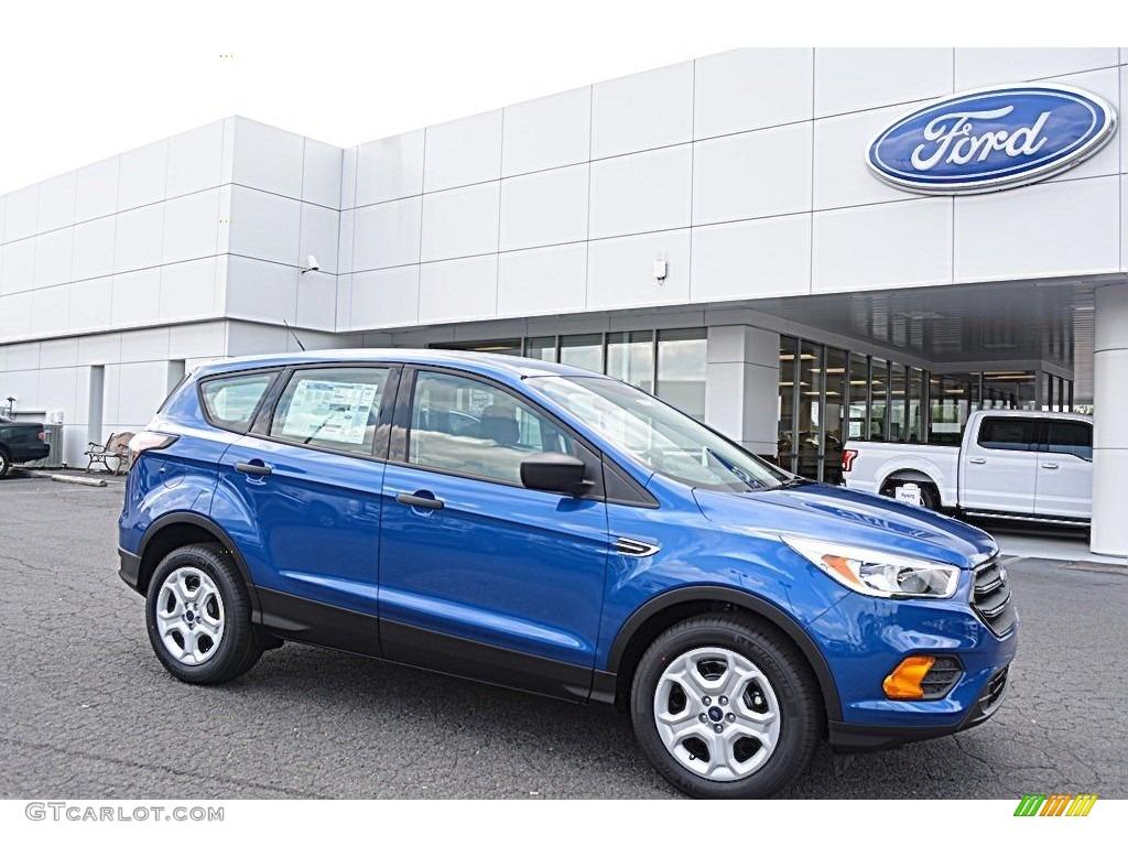 Ford Escape Colors >> 2017 Lightning Blue Ford Escape S #112721732   GTCarLot ...